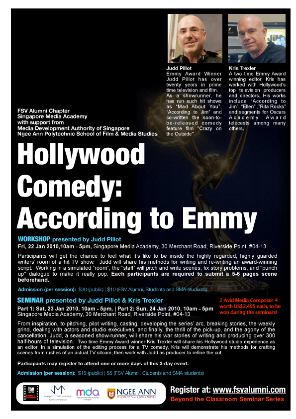 Hollywood Comedy: According to Emmy