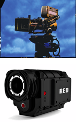 Panavision's Genisis and the independently made RED ONE.