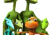 Dinosaur Train: Series and Site Credits co-produced by Sparky Animations
