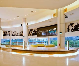The iconic murals that decorated the walls at the lobby of the old Lido have been updated but still remain in the lobby of the new Lido theatre complex. -photo from Shaw Organisation