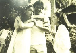 Snooky, Gabby Concepcion and Maricel Soriano in a scene from 'Summer Love