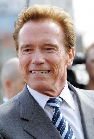 "Arnold Schwarzenegger attends a ""Barclay's Cycle Hire Scheme"" photo call in London"