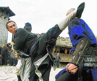 "Donnie Yen in ""Wu Xia"""