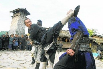 Donnie-Yen-kicks-out-in-Wuxia