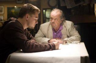 Leonardo DiCaprio, left, and Jack Nicholson in Martin Scorcese