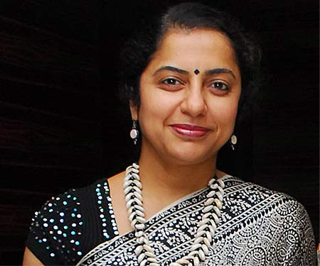 Actress Suhasini Manirathnam- Express photo by PO Anand Kumar