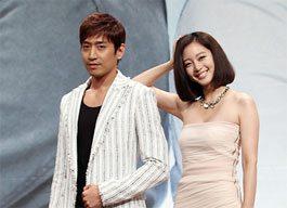 Eric Mun and Han Ye Seul (Photo courtesy of www.newsen