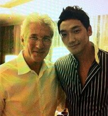 Hollywood actor Richard Gere with Rain