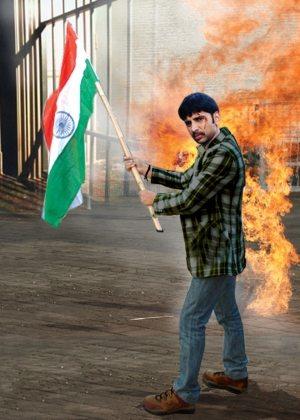 Sudip Pandey in Bhojpuri film 'Kasam Tiranga Ke'