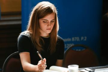 Emma Watson has addressed the U.N. on gender equality issues. Photo: AP Photo/ Matilde Campodonico
