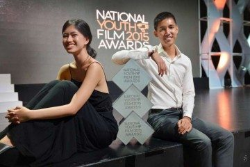 """November"" Shane Lim and Angelica Ho. Photo: Alphonsus Chern Image Source: Straits Times"