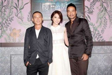 To be based on writer-director Giddens Ko's book, the movie The Tenants Downstairs will star (from left) Lee Kang-sheng, Shao Yu-wei and Simon Yam. Photo: mm2 Entertainment