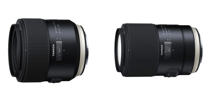 Tamron releases stabilized 85mm F1.8 and 90mm F2.8 macro full-frame ...