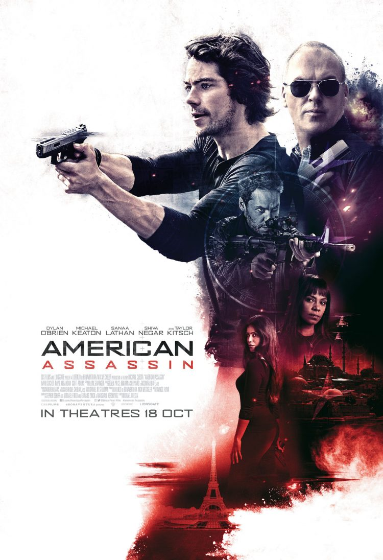 American Assassin_A4 Poster